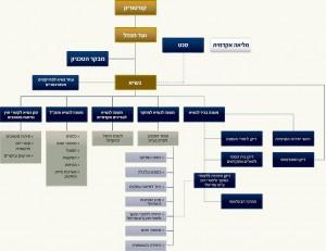 תרשים מבנה ארגוני