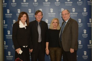 Prof. Peretz Lavie with his wife Lina with Moshe and Rachel Yanai