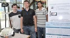 הסטודנטים שפיתחו רובוט המסייע לקשישים טרום-סיעודיים בבתיהם