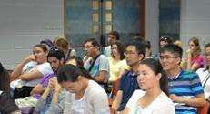 לומדים וחוקרים יחד. סטודנטים ישראלים וסינים בסדנה