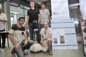 TELE-CARE - the students who developed a robot that helps elders who are not in need of long-term care and live at home