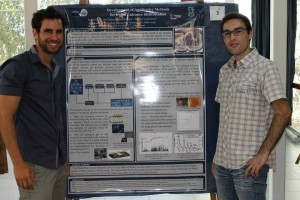 Ilya Glantz and Tzafrir Ozer, the students who won first prize