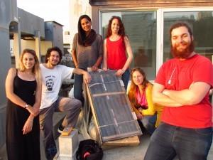 פרויקט בנגב (מערכת חימום סולארית בגני ילדים)
