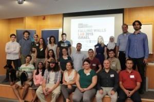 תמונה קבוצתית של המשתתפים בתחרות