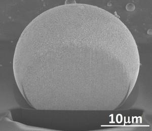 POKROY4 - החלקיקים של זהב ננו-פורוזיבי יכולים להגיע לממדים של עשרות מיקרונים