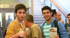 סטודנטים בכנס