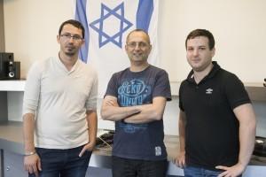 From left to right: Igor Kantor, Koby Kohai and Eli Zalianski