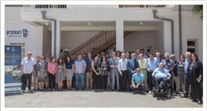 שתתפי כנס ישראל - איטליה 2016 בנושא ' רובוטיקה רפואית בתחום השיקום