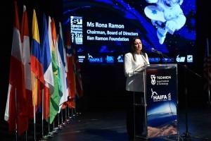 רונה רמון, מייסדת קרן רמון