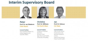 Members Interim Supervisory Board and Management Team EIT Food
