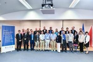 תמונה קבוצתית של משתתפי הכנס מהטכניון ומאוניברסיטת שנטאו
