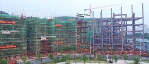 תמונות של הקמפוס החדש ההולך ונבנה בימים אלה. קרדיט: ממשלת מחוז גואנגדונג