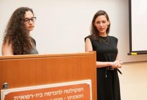 מריה גרבר וענת ליובין – זוכות במקום השני בתחרות פרויקטים