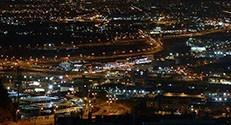 ניתוח התפלגות מקורות האור בעיר