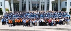 220 הסטודנטים שהחלו השבוע את לימודי ההכנה במכון טכניון-גואנגדונג ((GTIIT בסין. הסטודנטים יחלו את הסמסטר הראשון ללימודיהם באוקטובר 2017