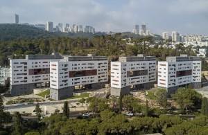 מעונות כפר הסמכה החדשים בקמפוס הטכניון בחיפה
