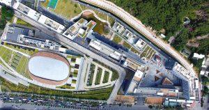 קמפוס מכון גואנגדונג-טכניון החדש בסין. קרדיט צילום: מכון גואנגדונג-טכניון