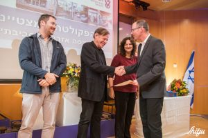 הפרס לפקולטה המצטיינת מוענק לפרופ' עודד רבינוביץ, דיקן הפקולטה להנדסה אזרחית וסביבתית