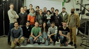סטודנטים מהטכניון שהשתתפו בקורס