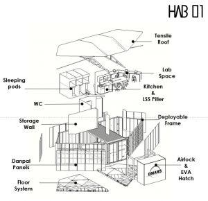 מבנה בתהליך הבנייה