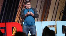 """פרופ'-משנה שי שן אור, חבר סגל בפקולטה לרפואה ע""""ש רפפורט, מציג בהרצאת TEDMED"""