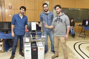 BizOn SRB - Smart Recycle Bin – צוות הסטודנטים שפיתח את מערכת פחי מחזור חכמה
