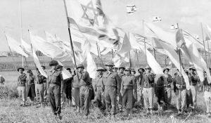 בתמונה: גדוד 22 בטקס סיום מלחמת השחרור