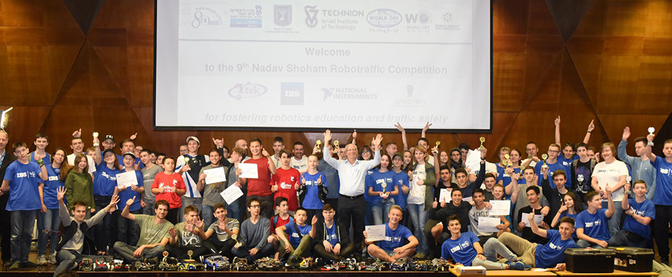 Student Groups from around the world come to compete in Israel as the Technion celebrates nine years of the contest named for Nadav Shoham.