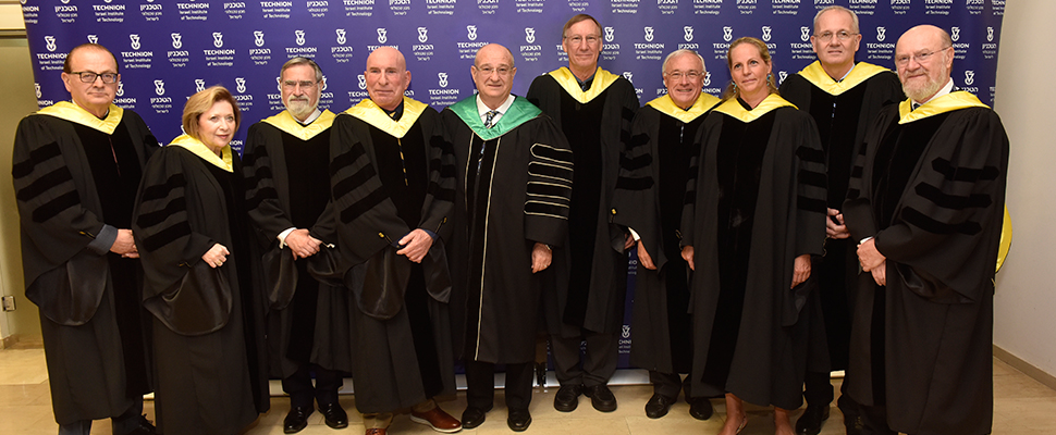Technion Awards Honorary Doctorates