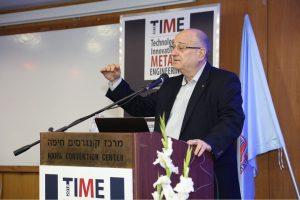 נשיא הטכניון פרופ' פרץ לביא