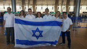"""המשלחת הישראלית, שכללה ארבעה תלמידי תיכון, הוכשרה בפקולטה לכימיה ע""""ש שוליך בטכניון"""
