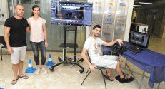 2. מערכת להדמיית זמן אמת של נסיעת רכב הפורמולה סטודנט האוטונומי, שפיתחו הסטודנטים אמיר בירן, תום הירשברג ודין צדוק
