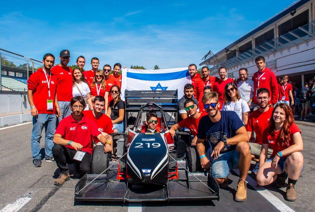 קבוצת הסטודנטים פורמולה טכניון דורגה במקום ה- 35 בעולם