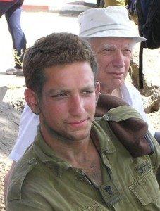 """דניאל שירן ז""""ל עם סבו פרופסור מנחם רבהון"""