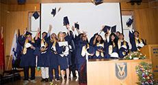 המרכז הבינלאומי בטכניון ציין את סיום המחזור השישי, שבו למדו סטודנטים מסין, מהודו, מארצות הברית וממקדוניה