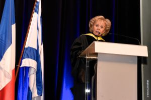 Madame Lily Safra, Honorary Chair of the Edmond J. Safra Philanthropic Foundation and of the Israel Scholarship Education Foundation (ISEF).