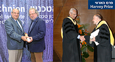 Prof. James P. Allison and Dr. Arthur Ashkin joined the community of Harvey Prize Winners who went on to receive the Nobel Prize