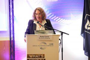 פרופ' רבקה כרמי, נשיאת אוניברסיטת בן גוריון