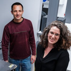 Prof. Shahar Kvatinsky and doctoral student Tzofnat Greenberg-Toledo