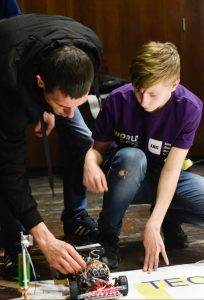 All hands on deck, at the 2019 Nadav Shoham Robotraffic Competition