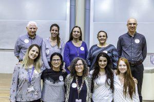הוועדה המארגנת של יום העיון המורכבת מקלינאים, חברי סגל, סטודנטים ועובדי טכניון.