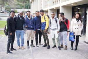 """כ-200 תלמידים מצטיינים בני הקהילה האתיופית ביקרו בטכניון במסגרת אירוע """"מצוינים"""""""