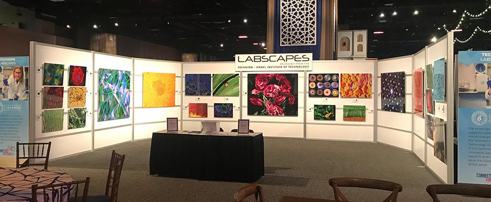"""התערוכה """"נופי מעבדה"""" ליוותה את הוועידה לכל אורכה, ושלושה בוגרים מצליחים של הטכניון הציגו את דרכם מלימודים לקריירה"""