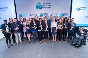 תמונה קבוצתית של משתתפי תוכנית העמיתים Schmidt Science Fellows קרדיט צילום: Adam Schultz