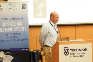 פרופ' אלון וולף, ראש המרכז הישראלי למחקר ספורט אולימפי