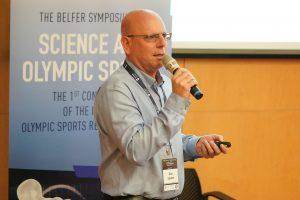 מולי אפשטיין, המנהל המדעי של הוועד האולימפי בישראל.