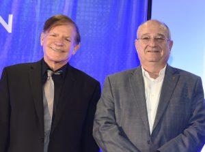 Moshe Yanai (l) & Prof. Peretz Lavie (r)