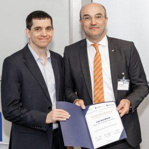 """ד""""ר ליאור קורנבלום מהפקולטה להנדסת חשמל ע""""ש ויטרבי זוכה בפרס לחבר סגל צעיר"""