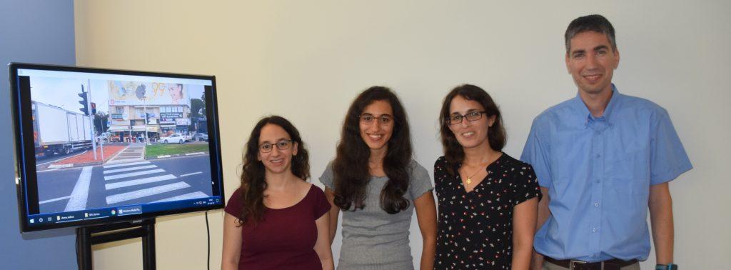 מימין לשמאל: יאיר משה, דולב עפרי, איילת כהן ורוני אש