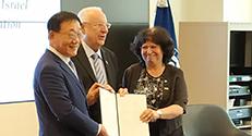 חתימת הסכם מסגרת לשיתוף פעולה מחקרי בין הטכניון ואוניברסיטת יונסיי